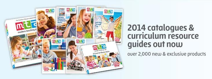 New 2014 Catalogues and  Curriculum Resources Guides Out Now