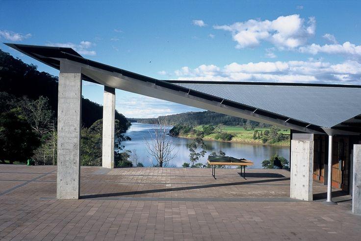 Arthur & Yvonne Boyd Centre in Riversdale, NSW by Glenn Murcutt