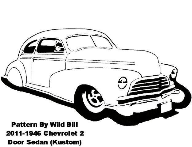 1946  kustom  chevrolet 2 door sedan - transportation - user gallery