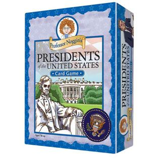 Great back to school card game for a curriculum which includes studying Presidents of the United States.  Kids Card Game | Professor Noggin's Presidents of the United States card games.