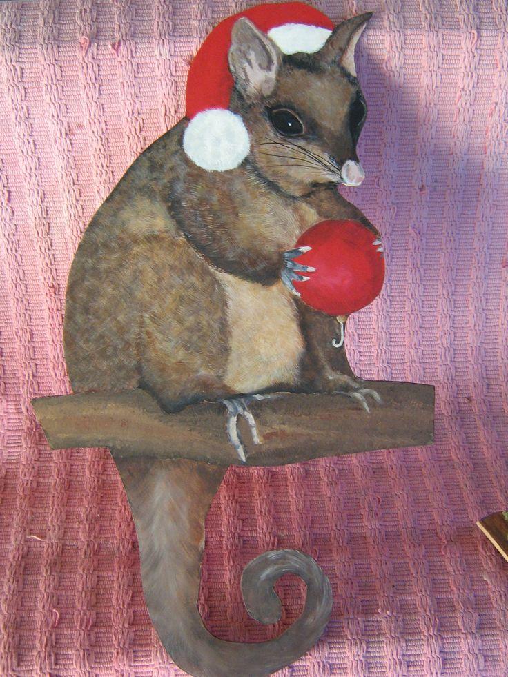 Christmas Possum