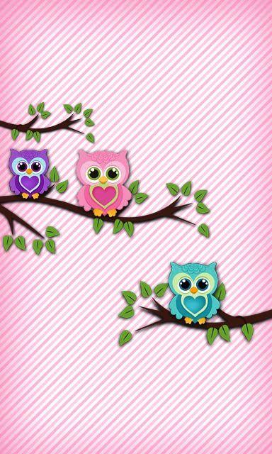 ♥ BabyBerryGirl Z10 Owl 2 Wallpaper.