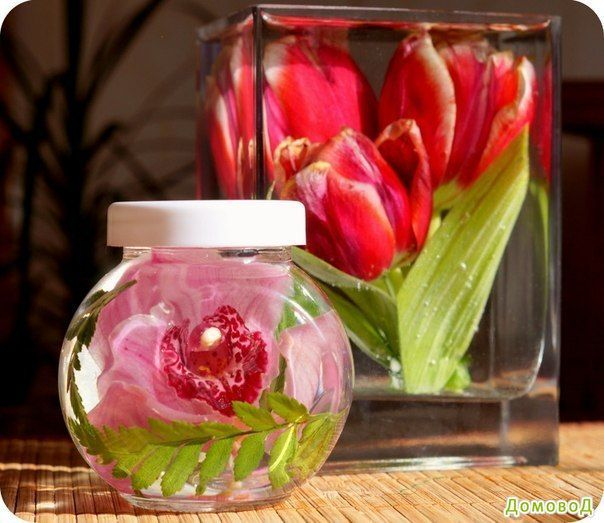 Сохранить цветы в глицерине