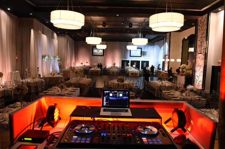 Vintage Elegant Wedding - Toronto, ON    Views from the DJ booth   Planning, Design & Decor Rentals Blissful Memories & Events   Precious Flowers N' Things    Venue The Grand Luxe Event Boutique    Photo by Red Planet Studios #Torontowedding #vintageelegance #elegantwedding #blissfulmemoriesandevents #Torontoweddingplanner