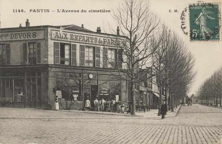 PANTIN -  avenue du cimetiere