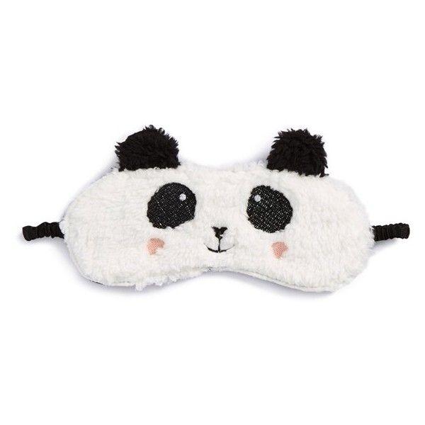 Women's PJ Salvage Sleep Mask ($17) ❤ liked on Polyvore featuring intimates, sleepwear, pajamas, accessories, white panda, panda pajamas, p.j. salvage, p j salvage sleepwear, p j salvage pajamas and panda pjs