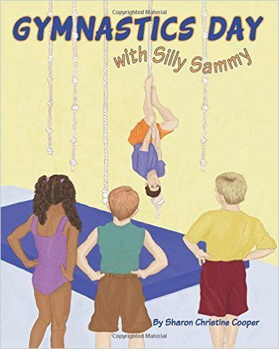 This gymnastics book has real gymnastics lessons and terminology wound into a funny and warm story. It teaches kids about safety and good listening in the gym in a fun way. Unique detailed, hand drawn illustrations.