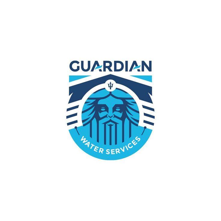Guardian water services by danger brain dangerbrain learn logo design 👇👇 learnlogodesign
