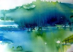 Aquarel Liliane Goossens: Aquarel
