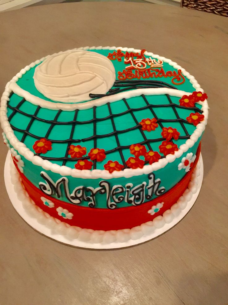 Best 25 Volleyball Cakes Ideas On Pinterest Volleyball