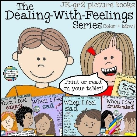 The Dealing-With-Feelings Series of picture books for JK-gr 2 students. New titles coming Summer 2015 #DWF