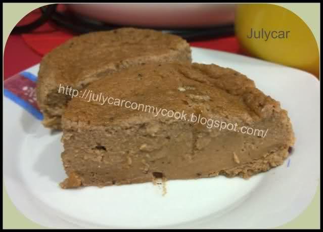 Recetas Dukan By Julycar: Bizcocho a la taza choco y queso