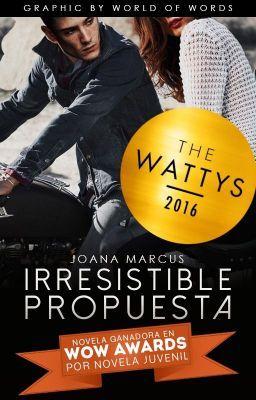 Ganadora en los Wattys 2016 por Edición de Coleccionista. Ganadora d… #romance Romance #amreading #books #wattpad