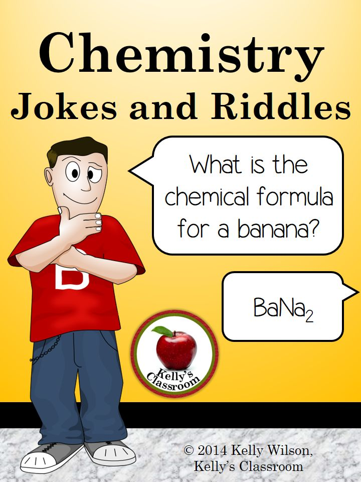 Chemistry Jokes And Riddles  Periodic Table Of Elements  Symbols  Science