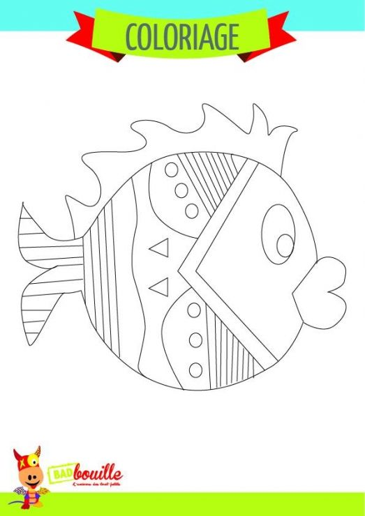 POISSON D'AVRIL !Chier de #coloriage : http://goo.gl/VbwVLS