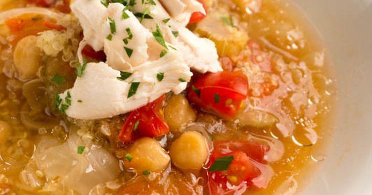 アンチエイジング、ダイエットにおすすめな食べるスープ。 1回で4皿分作れるから作り置きして温めるだけで簡単に温朝食。