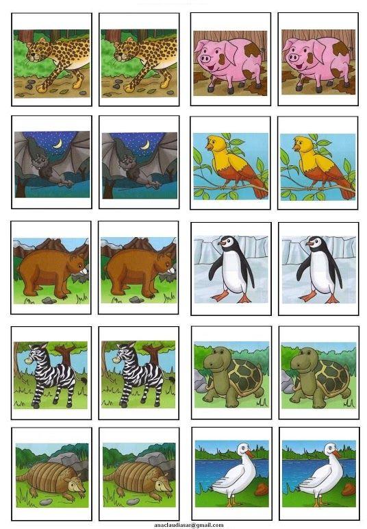 Memory dieren deel 1