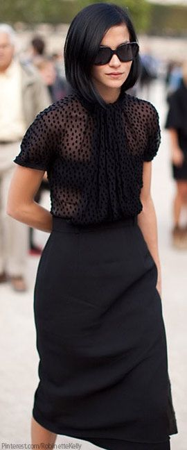 Classic Black - perfect work attire