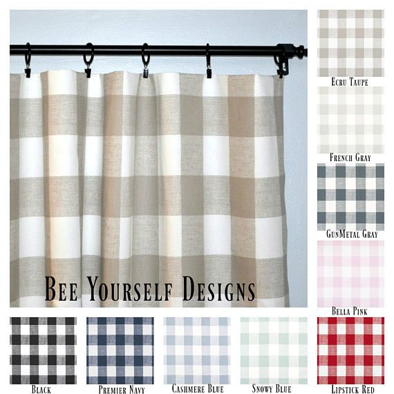 25 Best Ideas About Buffalo Check Curtains On Pinterest Check Curtains Gingham Curtains And