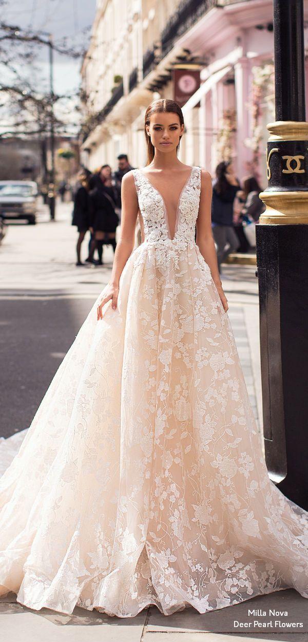9f85db6e999 Milla Nova Blooming London 2019 wedding dresses Sienna  weddings  dresses   weddingdresses  bridaldresses  weddingideas  weddinginspiration   ...
