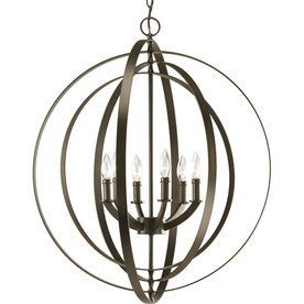 tiffany heart jewelry Progress Lighting Equinox  Light Antique Bronze Chandelier