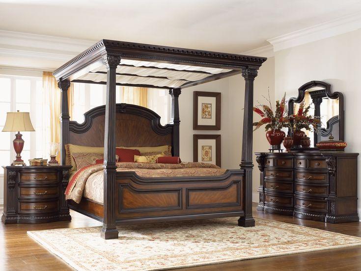 Grand Estates Canopy Bedroom Set
