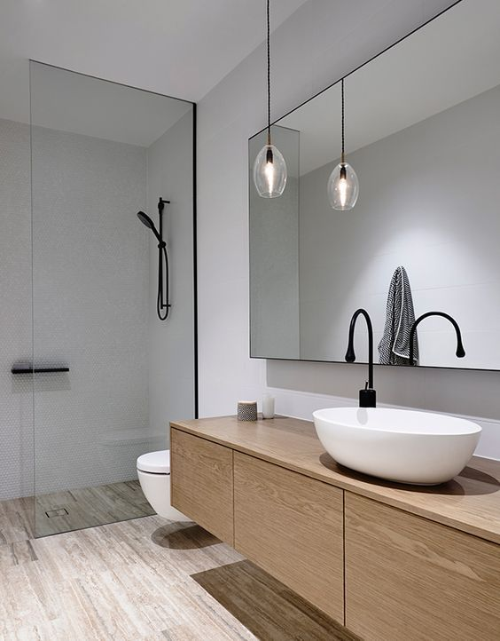 Stunning Modern Bathroom Sink   Elwood Townhouse