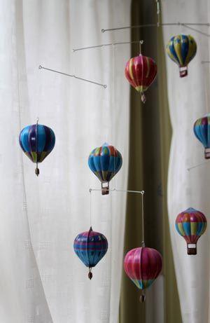 MOBIL - Luftballonger i plåt