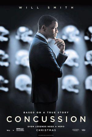 CONCUSSION (2015) La verdad duele en Esp. El Dr. Bennet Omalu (Will Smith) es un neuropatólogo forense que descubrió el síndrome postconmoción cerebral, que tanto daño causó a numerosos jugadores de fútbol americano, provocando incluso el suicidio de muchas estrellas de la liga NFL afectadas por el síndrome, como Dave Duerson y Junior Seau.