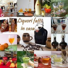 LIQUORI FATTI IN CASA Ecco una bellissima raccolta di liquori fatti in casa, con la collaborazione delle mie colleghe blogger. Devo ringraziarle tutte e un