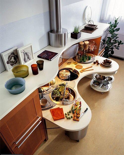 322 Best Images About Haus On Pinterest Hidden Storage   Kompakte Kuche  Snaidero Board