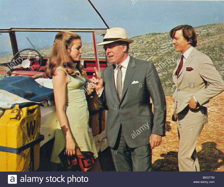 Sixties | Alexandra Stewart, Richard Attenborough and David Hemmings in Only When I Larf, 1968
