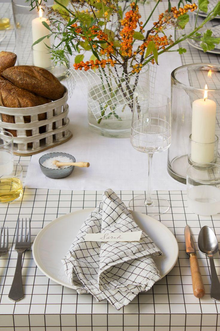 DIY: An Architect-Inspired Thanksgiving Table from Designer David Stark: Remodelista