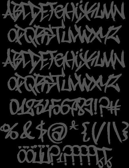 graffiti numbers - Google Search