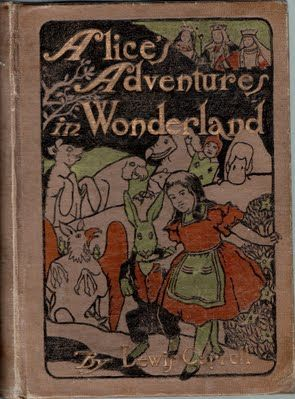 Cover of Alice with illustrations by Maria L Kirk (& John Tenniel) Published by Stokes USAin 1904