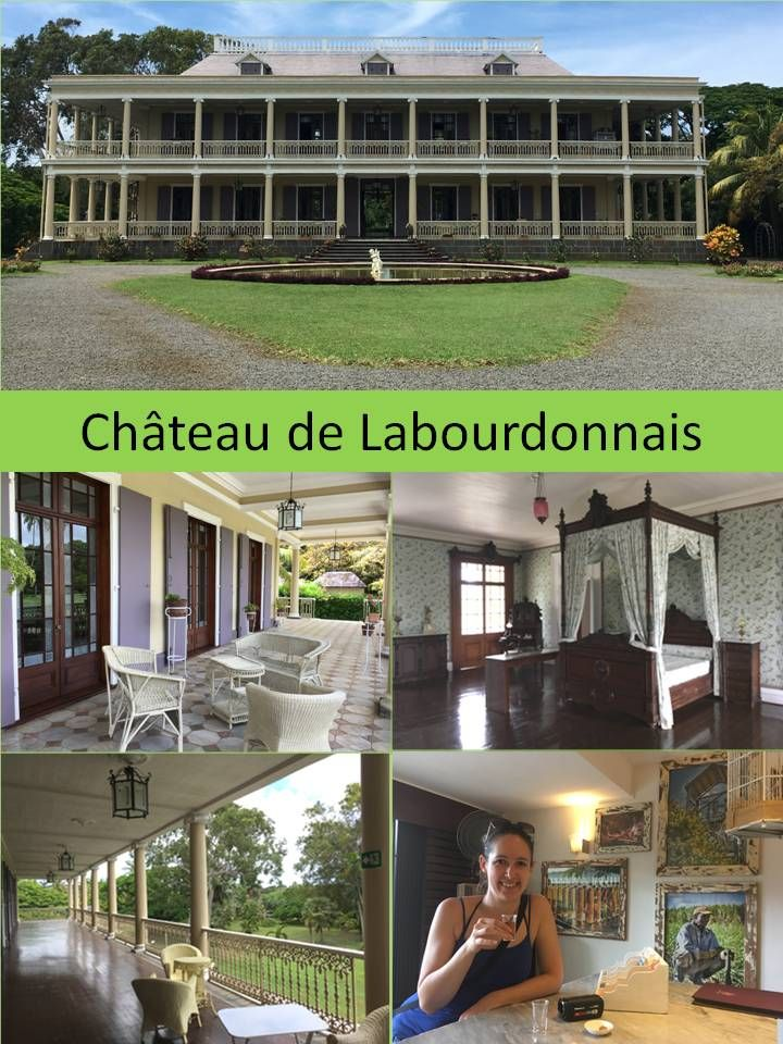 Mauritius - The Domaine de Labourdonnais, a privately owned Estate, was founded in 1774. This magnificent authentic Estate of 540 hectares is surrounded by spectacular green sugar cane fields and is ideally located in the north of the island. #travel #vegan #Labourdonnais #mauritius #chateau #rumfactory #rumtesting