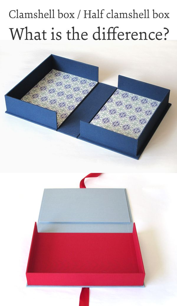 Clamshell box versus half clamshell box: What is the difference?