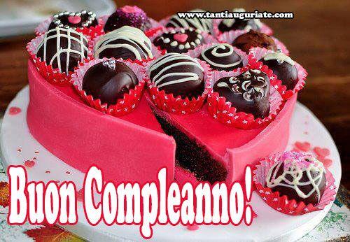 Auguri di Buon Compleanno - Tanti Auguri a Te: Immagini Torte di Compleanno