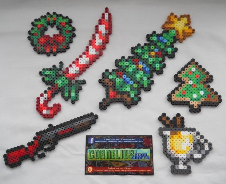 Terraria Holiday Items Keychains Optional Etsy