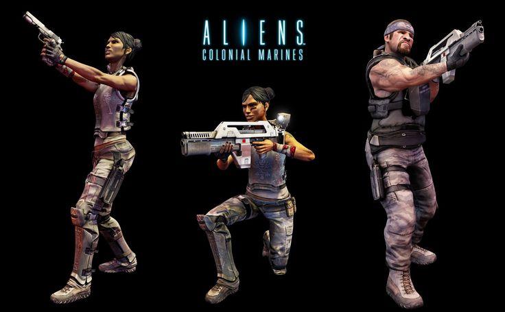 Aliens Colonial Marines Computer Wallpapers Desktop Backgrounds