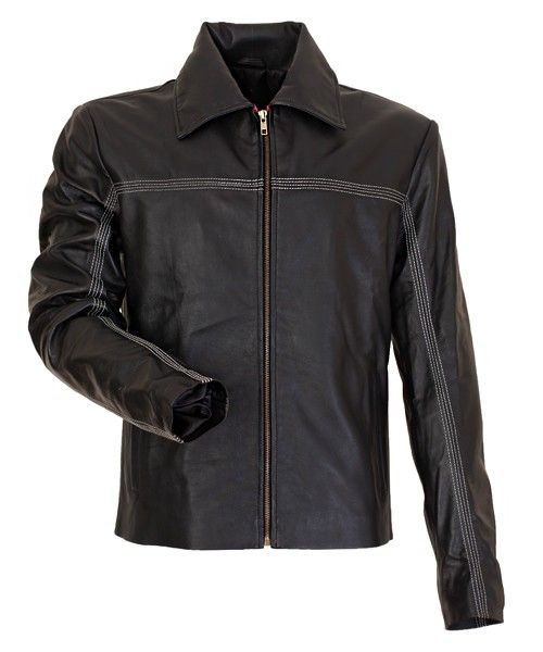 Layer Cake Daniel Craig Men's Leather Jacket Special Discount Offer and Free Shipping and Free Lots Of Gifts in Leather Jacket UK