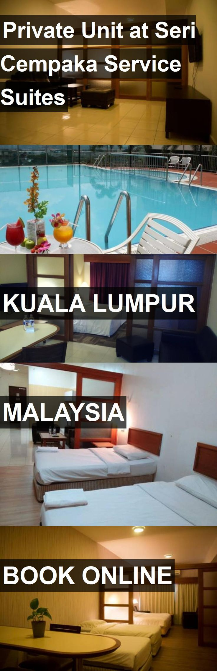 Hotel Private Unit at Seri Cempaka Service Suites in Kuala Lumpur, Malaysia. For more information, photos, reviews and best prices please follow the link. #Malaysia #KualaLumpur #travel #vacation #hotel