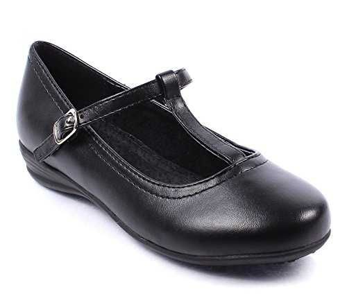 girls in school uniforms pictures | Kinder Schuhe - Fashion Church School Uniform Formal T-strap Girls ...