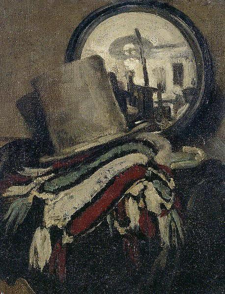 James Pryde's Hat c.1893-98 by SIR WILLIAM NICHOLSON (1872-1949)