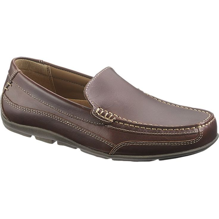 Men's Moccasins in brown color. http://www.bigshoes.gr/mens-shoes/moccasins/b11087.html