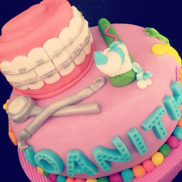 Birthday Cake Design For Dentist : 17 Best images about Dentist Cakes on Pinterest First ...