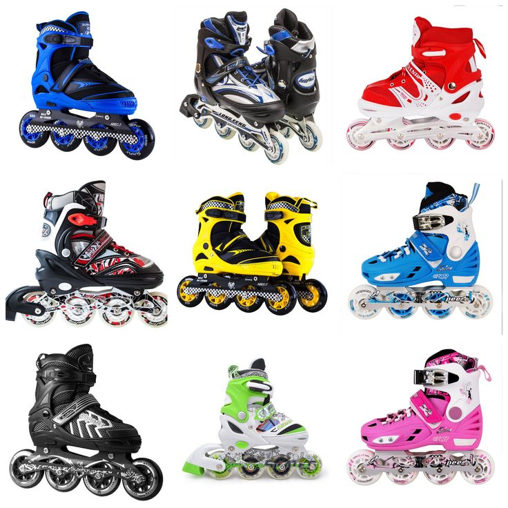 Rate our new arrival stylish Kids Inline Skates on OXEMIZE !Our buying guide for kids inline skates can be used to select the right inline skates for your kids.We have fast, fun, inline skates for girls and boys in adjustable sizes for every age. Coming in stylish colors, you'll find high performance inline skates for advanced skaters, as well as training skate packs for beginners, which transfer from a three-wheel skate for balance into an inline…