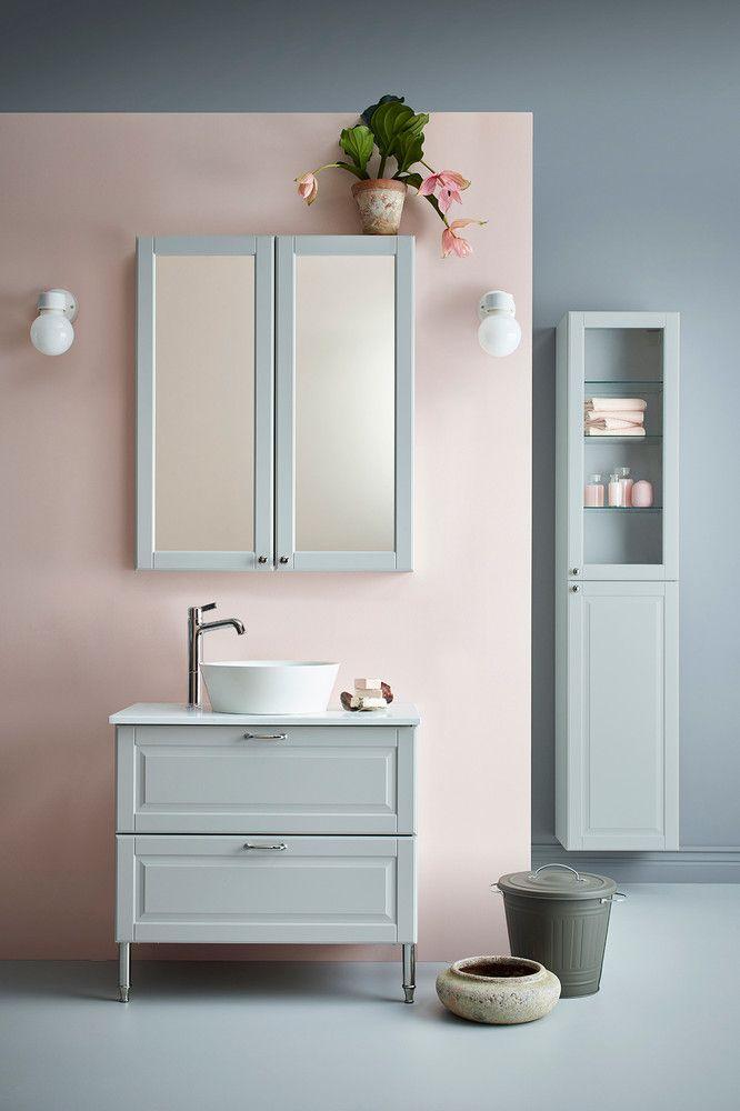 Toque rústico | Baño ikea, Muebles de baño, Cuartos de baño ikea