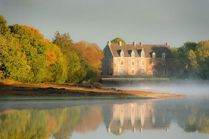 Chateau de Comper - Brocéliande  Bretagne