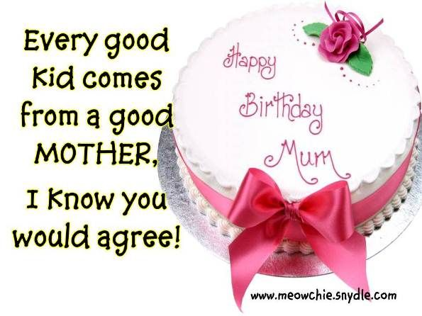 Birthday Quotes for Your Mother | Free Download Birthday Wishes ...